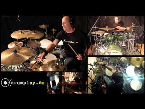 Drumplay Manhattan Transfer Speak up Mambo by Juanlu Gil (drumcover)