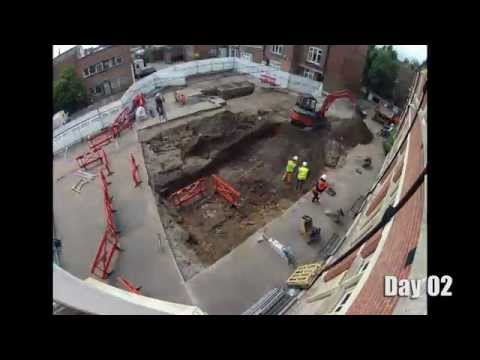 Time-lapse Recording of the Archaeological Dig at the Richard III Burial Site