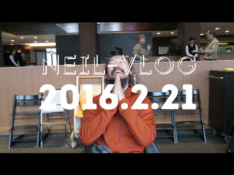 "Neil Vlog 2016.2.21 ""Tomamu Car Danchi cat Tour"""