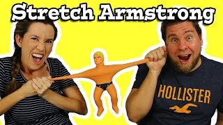 Stretch Armstrong Is Back!!!