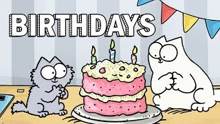 Birthdays - Simon's Cat | GUIDE TO