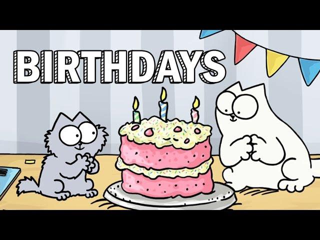 Birthdays - Simon's Cat | GUIDE TO