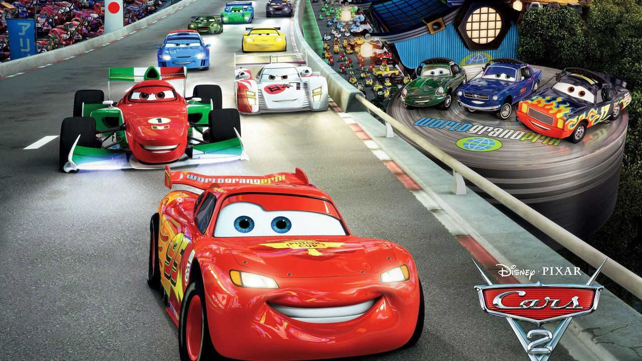 cars 2 en espa ol rayo mcqueen la pelicula del. Black Bedroom Furniture Sets. Home Design Ideas