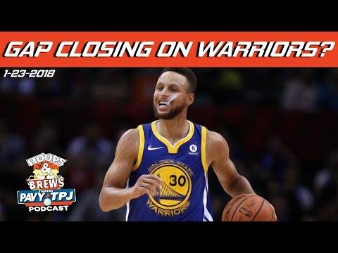 Is the Gap Closing on Warriors ?    Hoops & Brews