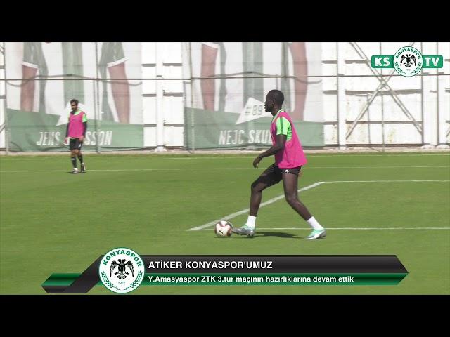 Takımımız ZTK 3.turunda Y.Amasyaspor ile oynayacağı maçın hazırlıklarına devam etti