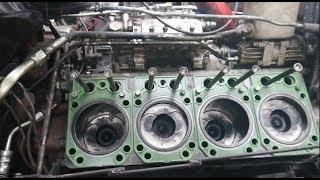 Собрали и запустили двигатель Камаз и разобрал спаленный стартер!