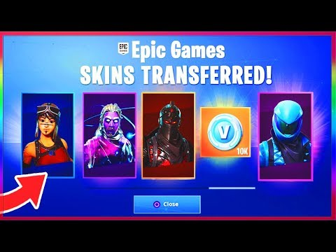 Download *NEW* MERGE ACCOUNTS In FORTNITE! - TRANSFER SKINS In