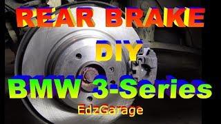 Rear Brake Job - Rotors, Pads and Wear Sensor BMW 3 Series e90
