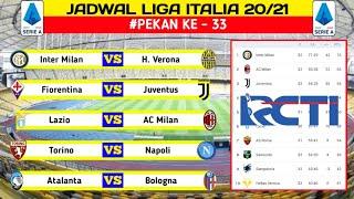Jadwal Liga Italia Pekan 33 Fiorentina vs Juventus