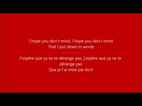 Glee - Your song / Paroles & Traduction