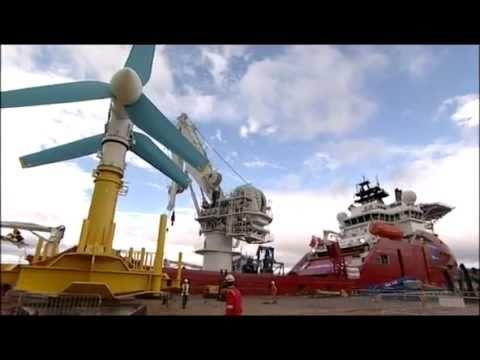 Bay of Fundy tidal generators | CBC