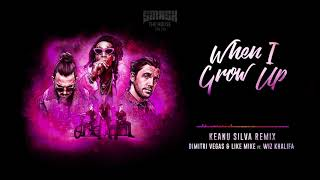 Dimitri Vegas & Like Mike ft Wiz Khalifa - When I Grow Up (Keanu Silva Remix)