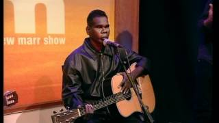 Gurrumul - Mala Rrakala live on the Andrew Marr show (& interview)