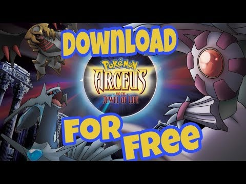 How To Download Pokemon Movie 12 Arceus And The Jewel Of Life In
