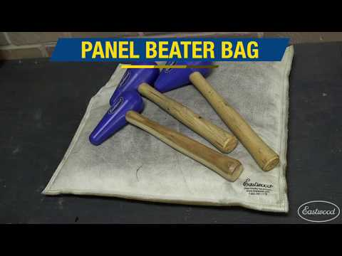 How Quickly Add Shapes to Metal - Panelbeater SandBag & Tear Drop Mallet - Eastwood