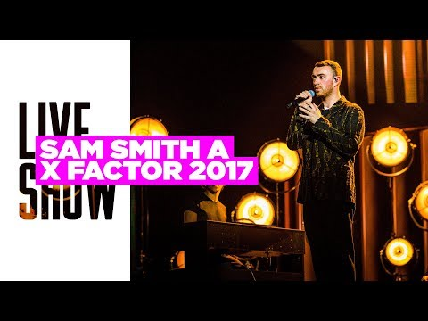 Sam Smith presenta Too Good At Goodbyes a X Factor Italia - Live Show 2