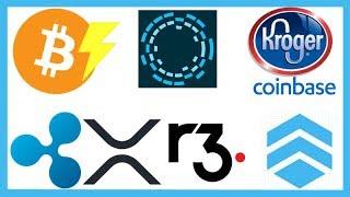 Bitcoin Lightning Network Upgrade & Kroger - Delete Coinbase - R3 Corda Settler XRP - Ripple Remessa