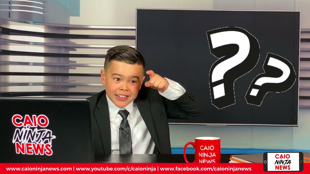 CNN - Caio Ninja News   Season II Episode 6   Kids: They are coming for us!!!