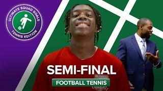 FOOTBALL TENNIS SEMI-FINALS W/ MANNY, REBEL FC & CHEEKYSPORT