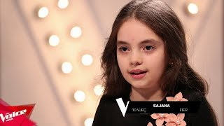 Video Sajana - Introduction video | The Blind Auditions | The Voice Kids Albania 2018 download MP3, 3GP, MP4, WEBM, AVI, FLV Juni 2018
