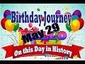 Birthday Journey May 29 New