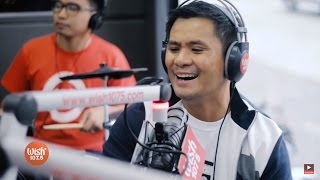 """Ogie Alcasid performs """"Ikaw Lamang"""" LIVE on Wish 107.5 Bus"""
