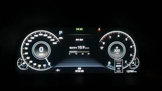 2020쏘나타 센슈어스12.3인치 FULL LCD계기판…