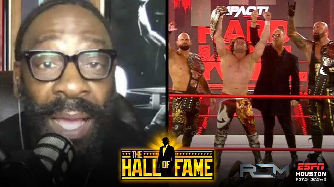 """Booker T Says Kenny Omega Winning IMPACT World Title Does """"Nothing"""" For IMPACT"""
