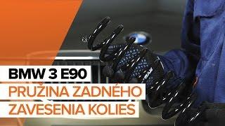 Ako vymeniť pružina zadného zavesenia kolies na BMW 3 E90 NÁVOD | AUTODOC