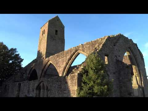 Ruined Medieval Church And Tower Muthill Perthshire Scotland