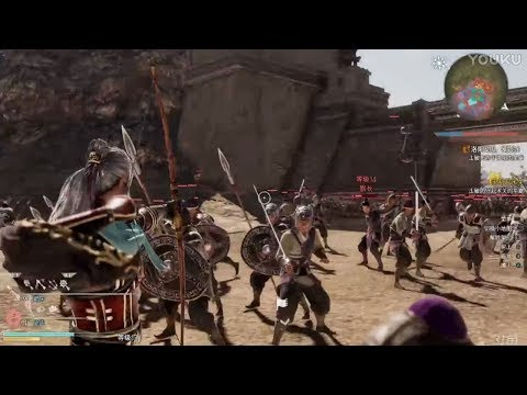 Dynasty Warriors 9 - ChinaJoy 2017 Cheng Pu Gameplay