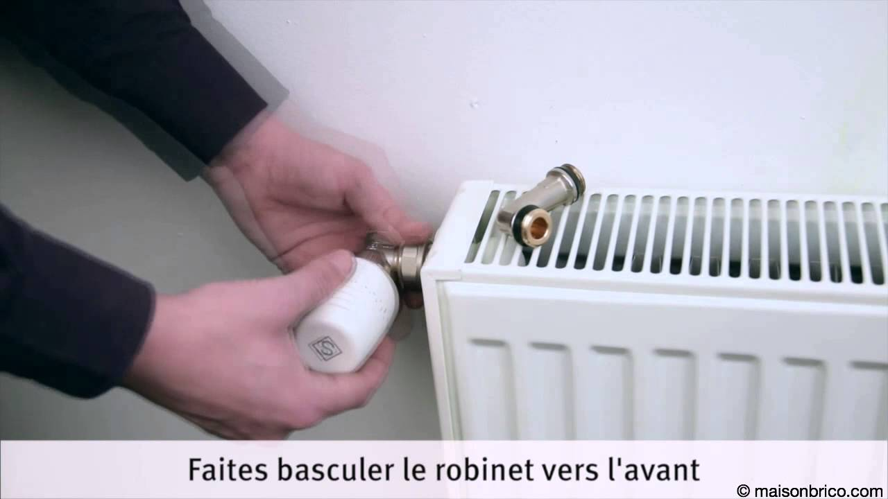 Installer un radiateur de chauffage central youtube - Branchement radiateur chauffage central ...