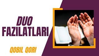 Qobil Qori - 02.Duo Fazilatlari (Omonatdan Saqlaning)