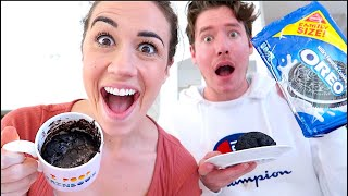 MAKING CHOCOLATE CAKE WITH ONLY 2 INGREDIENTS!
