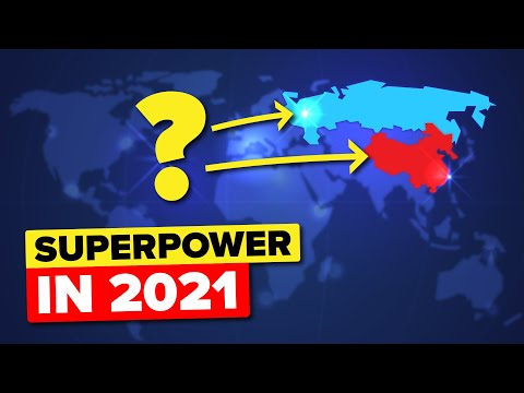 Who Is The World's Superpower In 2021?