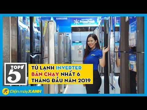 Top 5 tủ lạnh inverter bán chạy nhất 6 tháng đầu năm tại Điện máy XANH 2019
