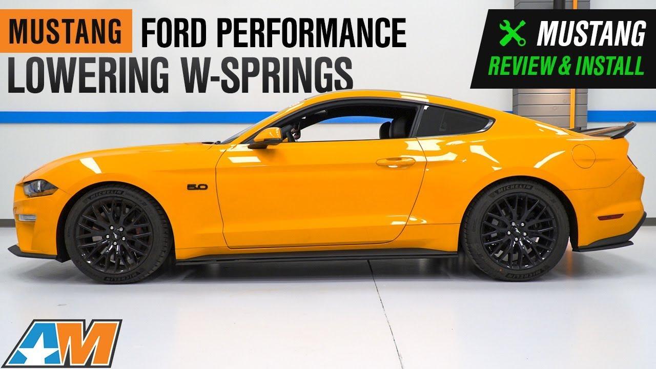 15-19 Ford Mustang GT Eibach Sportline Lowering Springs