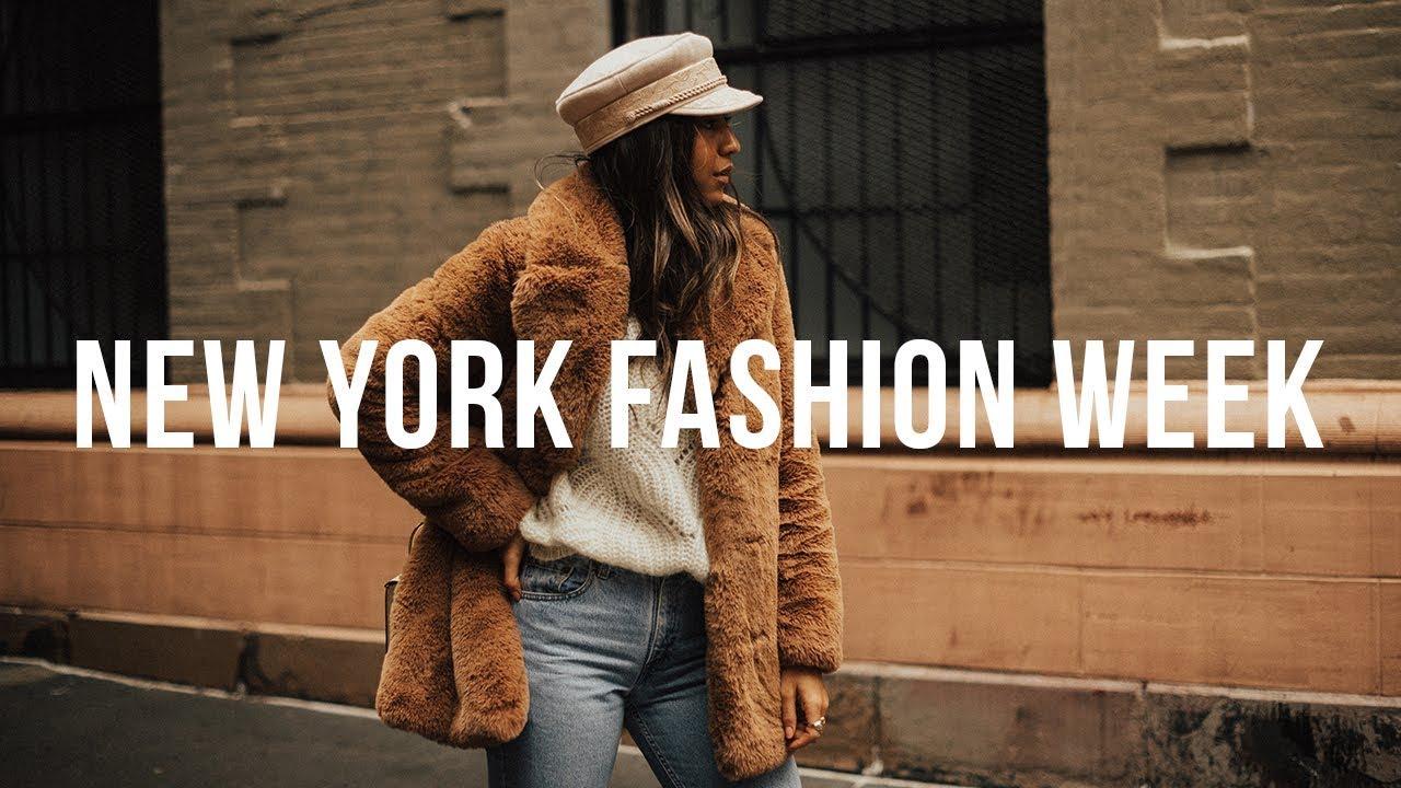 Get Ready At New York Fashion Week