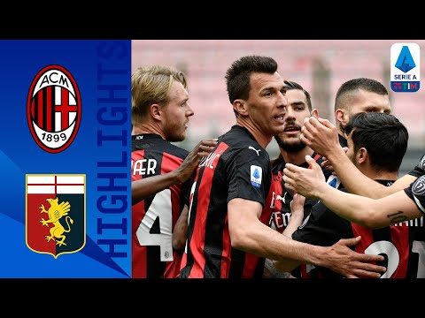AC Milan Genoa Goals And Highlights