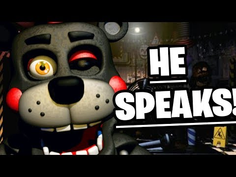 LEFTY AND ROCKSTAR CHICA SPEAK!  Five Nights at Freddys Ultimate Custom Night NEW UPDATE
