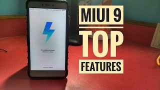 Top features of miui 9!!