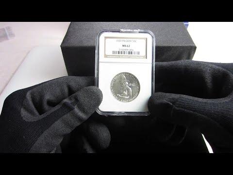1920 Pilgrim Commemorative Silver Half Dollar