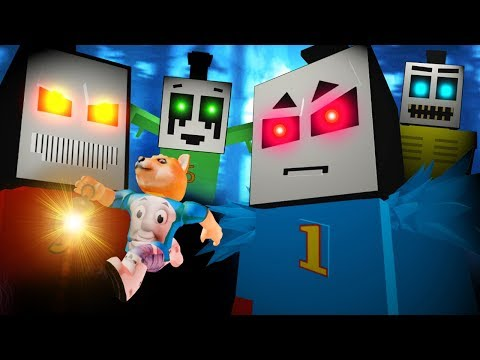 Escape From Scary Thomas Slender Engine In Roblox!