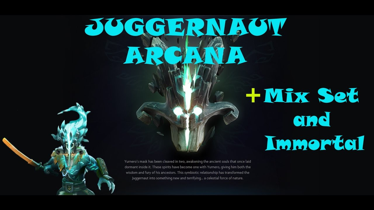 Dota 2 Immortal 12: JUGGERNAUT ARCANA The Bladeform Legacy + Mix Set And