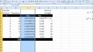 Discrete Probability Distribution - Mean, Variance, Standard Deviation