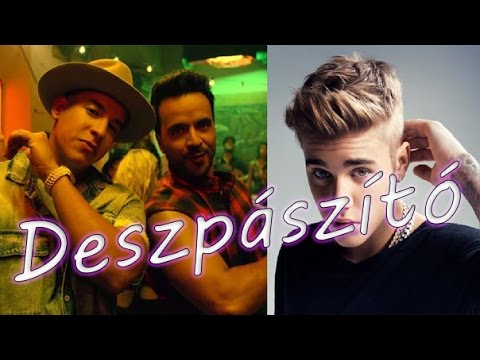 deszpászító - fonetikus (Luis Fonsi, Daddy Yankee - Despacito ft. Justin Bieber Karaoke