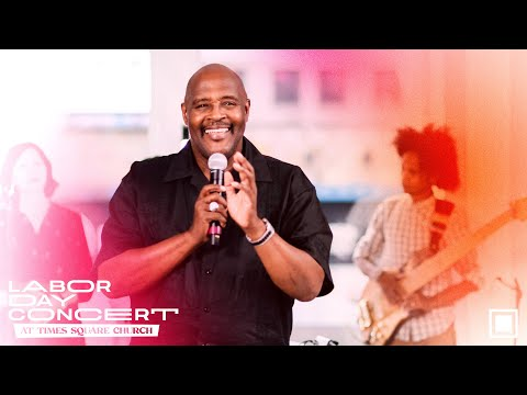 Draw Me Close/Thy Will Be Done - Marvin Winans Live at Times Square Church