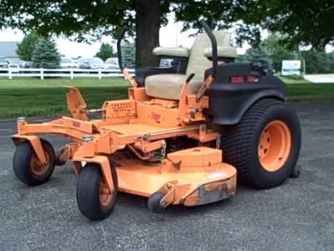 Scag Tiger Cub Zero Turn Ride On Mower Demo Youtube