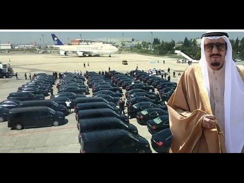 Meeting Super Rich King Salman of Arabia