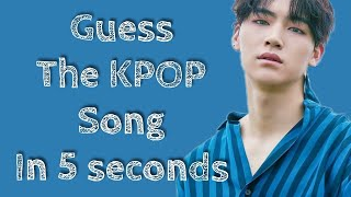 Guess the KPOP song in 5 seconds 1